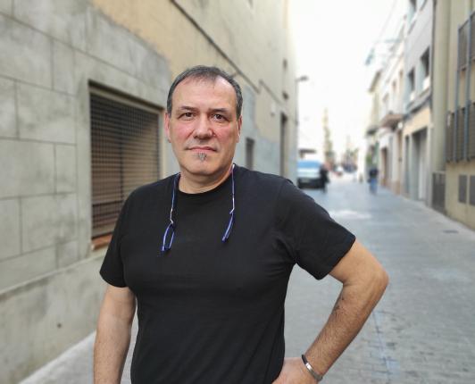 Eduardo Estradera, voluntari