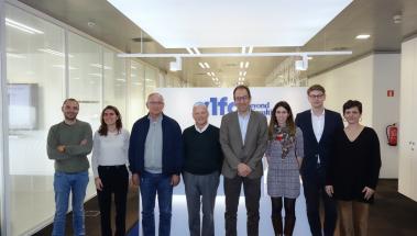 Auditors d'Alfa Consulting i l'equip directiu de Sant Joan de Déu Serveis Socials - Barcelona