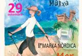 Cartel promocional: Marcha nórdica Castelldefels
