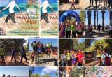 Collage Marxa nòrdica Castelldefels   Font: Fundació Walkim