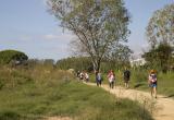 Marxa nòrdica Castelldefels   Font: Fundació Walkim