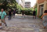 Taller d'inicació marxa nòrdica Centre residencial Hort de la Vila