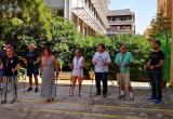 Taller de iniciación marcha nórdica Centro residencial Hort de la Vila