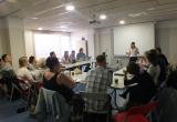 Segona sessió de la formació a Creu dels Molers