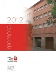 SJD Serveis Socials - Barcelona. Memoria 2012