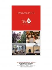SJD Serveis Socials - Barcelona. Memòria 2013