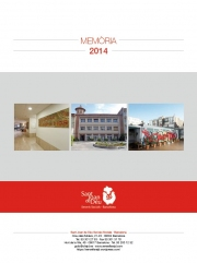 SJD Serveis Socials - Barcelona. Memoria 2014