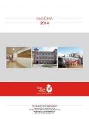 SJD Serveis Socials - Barcelona. Memòria 2014