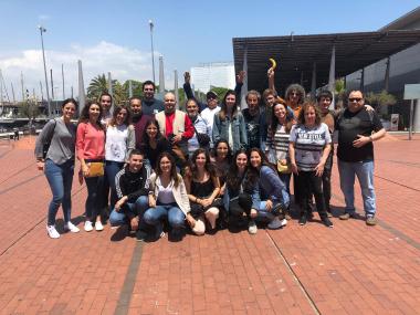 Personas de Deloitte y Sant Joan de Déu Serveis Socials - Barcelona disfrutan de una jornada lúdica