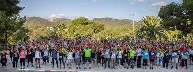 Marcha nórdica Castelldefels   Fuente: Fundación Walkim