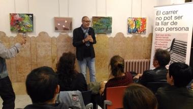 Inauguració de l'exposició AD Radicare i Enxarxa't, a la Casa Orlandai, Sarrià, Barcelona