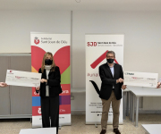 TRAM y Moventia donan 60.000 euros para facilitar el transporte público de las personas en situación de sin hogar