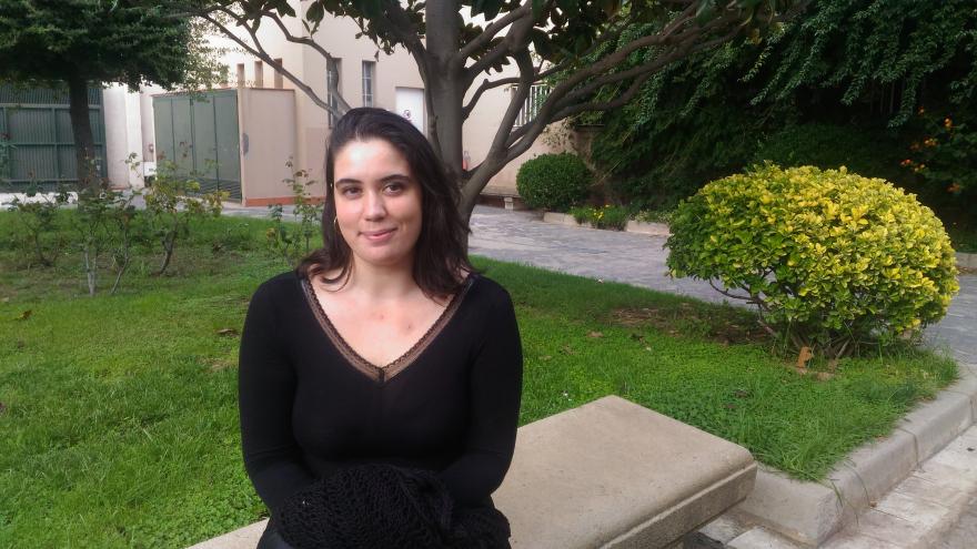 Andrea Macarulla, voluntaria