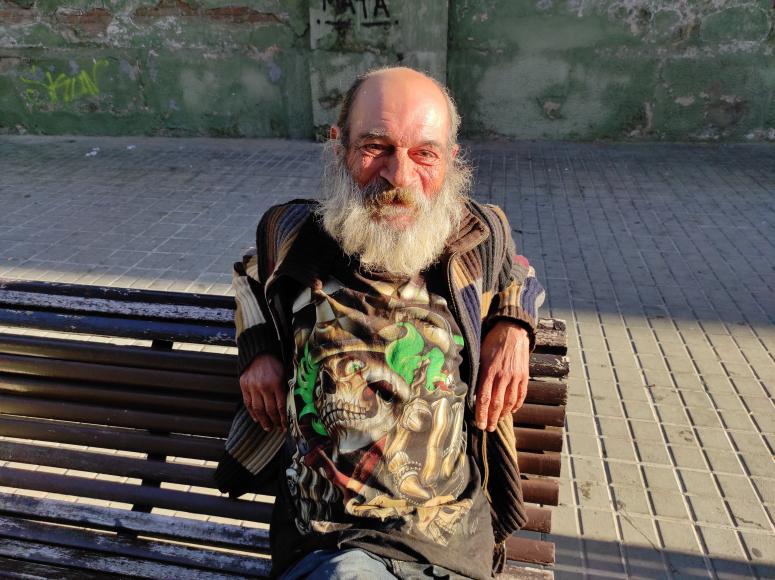 Antonio Villalba, usuario del Centro Diurno Folre