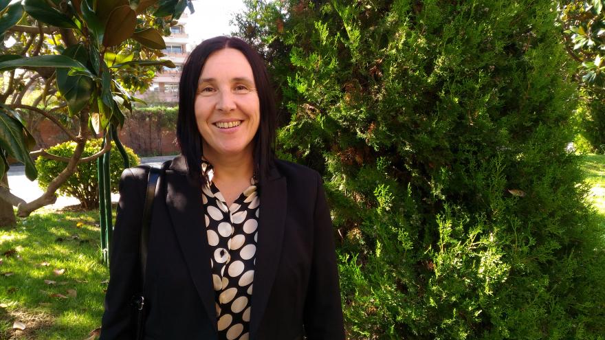 Sonia Fuertes, Presidenta de ECAS